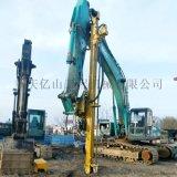 挖改鑽挖改鑿巖機成本低鑽孔快、操作簡單、易裝易卸。