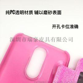 LG LV3/LV5翻盖皮套 手机保护套 开窗透色手机壳电压皮套工厂直销