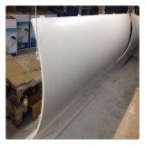 禪城工地弧形包柱鋁單板, 氟碳弧形衝孔鋁單板幕牆