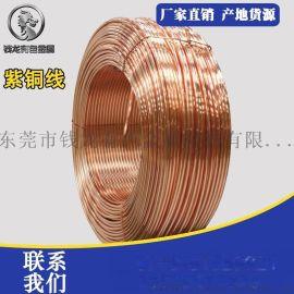 T2电子紫铜丝 全软态导电红铜裸线 T2变压器软态铜线材可定制