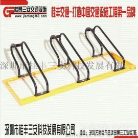 深圳**的自行车停车架