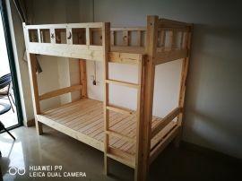 南寧廠家批發公寓牀/高低木架牀/學生上下鋪牀/學生牀/上下鋪木牀