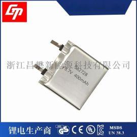582728-400mAh 3.7V智能手表电芯 儿童定位手表Q5聚合物**电池