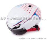 自行車頭盔山地車公路車一體成型頭盔 帶LED自行車尾燈OEM