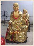 坐像木雕十八罗汉雕刻厂家,站像木雕十八罗汉定做厂家