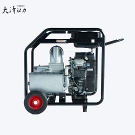 使用效果大泽动力汽油高压自吸水泵6寸 TOTO60EW 高扬程 内燃水泵