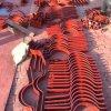 管道固定專用立管管夾 鋼製扁鋼管夾 焊制腿式支座