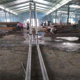 通用型管链输送机耐磨 陶土管链式输送机