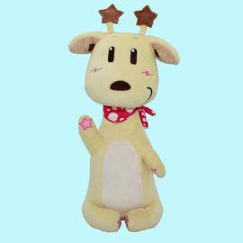 2019新款创意毛绒玩具长颈鹿公仔娃娃玩具加工定制