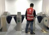 ESD防靜電門禁數顯款 三輥閘防靜電門禁