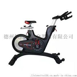 健身房静音健身车 室内动感磁控单车  风阻自行车