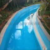 景区聚天门冬氨酸脂树脂泳池设施,海南宏利达