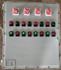 厂家直供防爆变频器箱 带通风口散热 断路器带自锁
