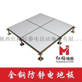 【红梅】防静电地板_机房/控制室/配电室专用地板
