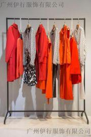 品牌折扣 璱纳上海品牌折扣女装批发市场 外贸尾货服装怎么样 库存女装品牌尾货
