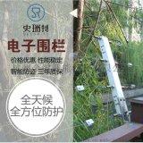 日常防护电子围栏供应 小区别墅学校适用防护用品