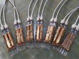 双管镀金固化油墨1.2KW 192MM注塑机半镀金加热管