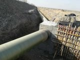 改造工程直埋玻璃钢保温管道