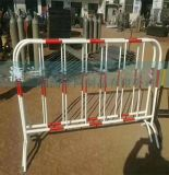 唐山鐵馬護欄 施工路可移動式護欄 鋅鋼護欄臨時圍擋