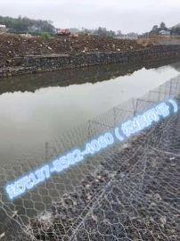 水利防洪护坡护脚六角石笼/生态镀锌包塑PVC六角石笼网箱