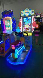广州胖达熊动漫直销单人踩单车儿童娱乐设备