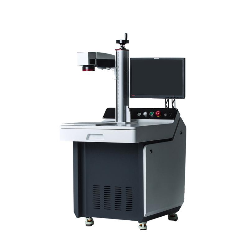 激光打标机五金汽配件光纤激光打标喷码机整体方案