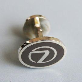 专业生产各种高档礼品袖扣,金属压铸商务礼品袖扣