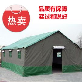 北京五环精诚施工帐篷 户外工程工地帐篷 民工用帆布帐篷