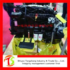 康明斯发动机340马力国四电控电喷柴油发动机总成