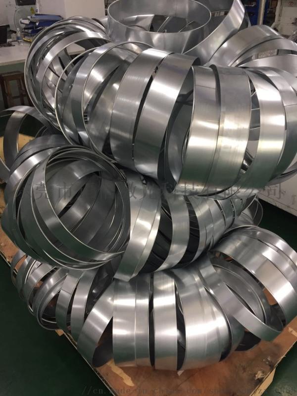 全自動鋼帶卷圓翻邊一體*射焊接機