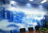 上海手绘墙公司_办公室手绘墙工作室