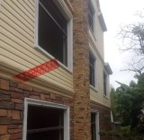 杭州筠尚pvc外墙挂板外墙装饰材料别墅户外墙面扣板