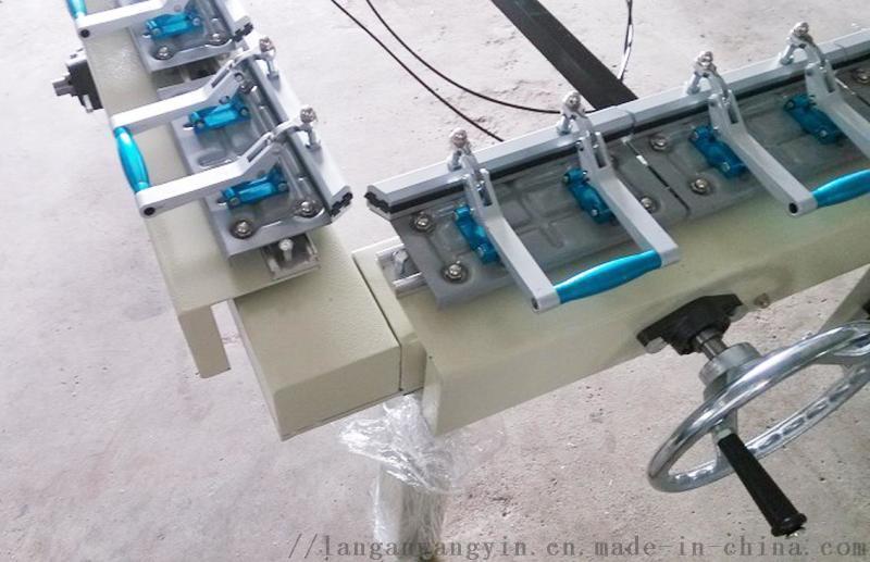LA1215S双夹气动拉网机 精密网版绷网机