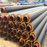 鑫龙日升DN300预制直埋聚氨酯保温管大型生产厂家