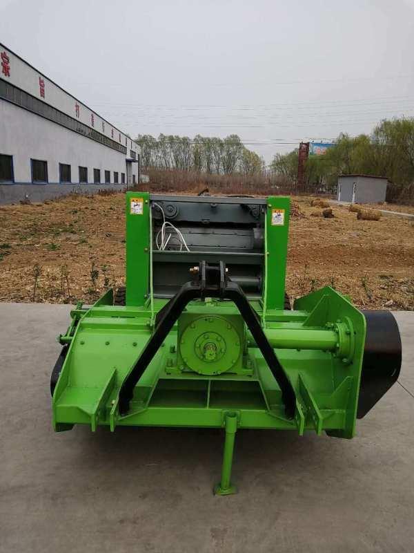 秸秆粉碎打捆机,圣隆牌玉米秸秆粉碎打捆机工作视频
