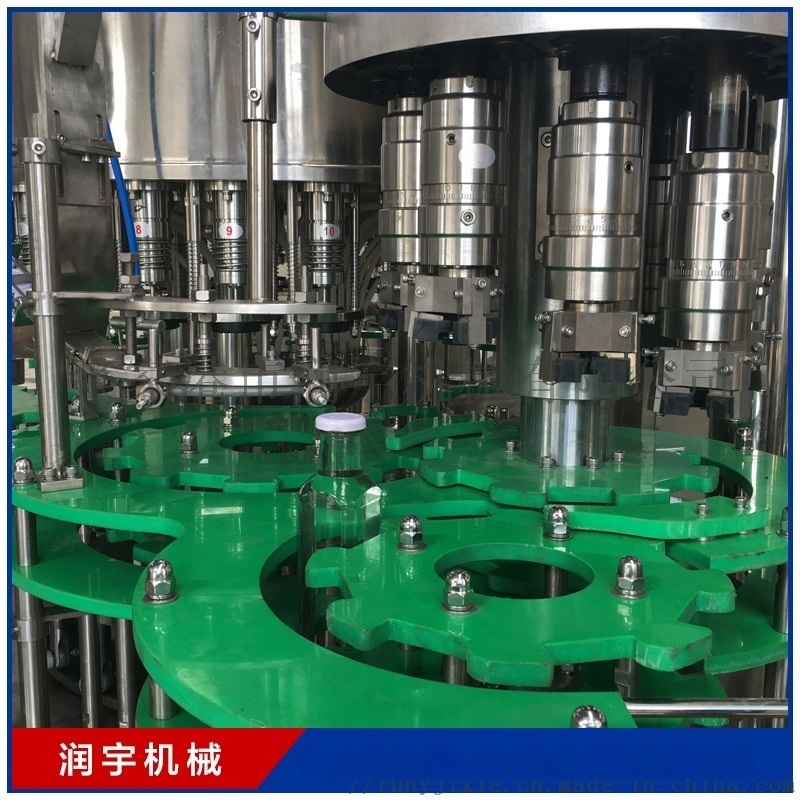 熱銷三合一灌裝機 果汁瓶裝水啤酒生產設備