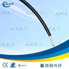 黑皮塑料光纤芯内2.0MM外径3.0MM通信传感用塑料光纤导光光纤光缆