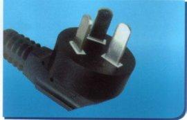 三蕊插头线、电源插头线中国CCC认证(PSB-16)