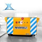 蓄电池供电单轨道搬运车双轮沿轨道轮电动平板车