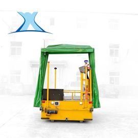 无轨平车设备检测仪器搬运车蓄电池无轨360°转弯电动遥控平车