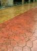 上海桓石 江苏全境混凝土压模地坪材料销售 压模地坪模拟传统建材中的板岩、石材、木纹、地砖