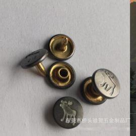撞钉刻字撞钉牛仔裤撞钉厂家生产定制撞钉衣角撞钉