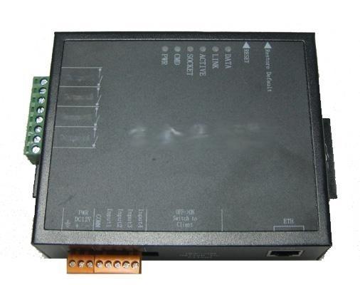 京金华EIO-4以太网四路开关量联网设备