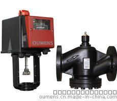 DN25-200温控电动二三通比例调节阀