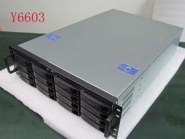 3U16盘位标准安防存储服务器机箱Y6603