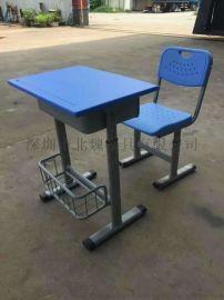 写字板课桌培训椅、学生培训椅、学生课桌椅
