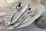 供應月光刀叉套裝不鏽鋼牛排刀叉勺三件套高檔西餐食具