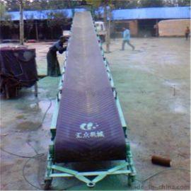 稻谷水平输送机 卸车装车专用运输机  山东槽钢输送机厂家