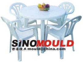 塑料桌椅注塑模具
