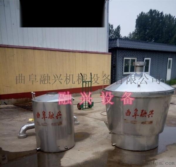 四川蒸汽式大型釀酒設備五糧大麯釀酒設備規格